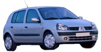 La Renault Clio introduite en 1990 a bénéficié d'une première grande évolution en 2001. La Clio 2 reprenait la forme générale de la Clio, en la modernisant (notamment la partie arrière).