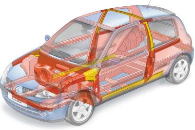 Photo du design extérieur de Renault Clio 2 de 2001: technologies